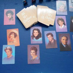 VTG all my children  soap opera board game pieces